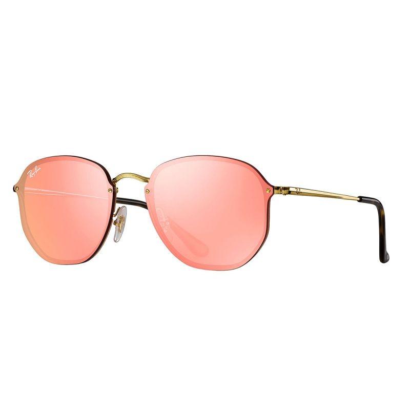 Óculos De Sol Ray-ban Rb3579 001 e4 58 Blaze Hexagonal - R  399,00 ... 6c65dcefcf
