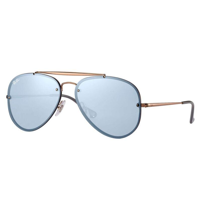 7b81f7a83 Óculos De Sol Ray-ban Rb3584 9053/1u 61 Blaze Aviador - R$ 469,68 em ...