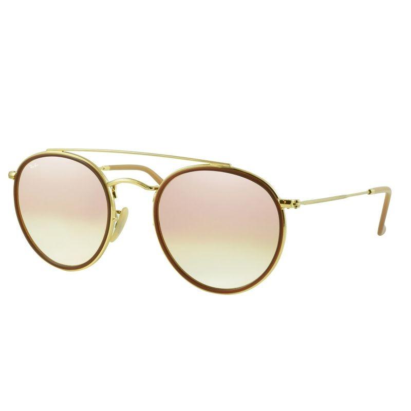 óculos de sol ray-ban rb3647 001 7o 51 round double bridge. Carregando zoom. 4b90c98f9c
