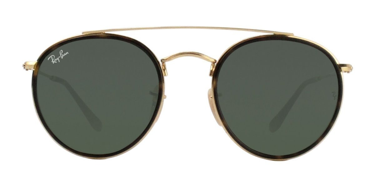 d584b2509 óculos de sol ray ban rb3647 round double bridge original. Carregando zoom.