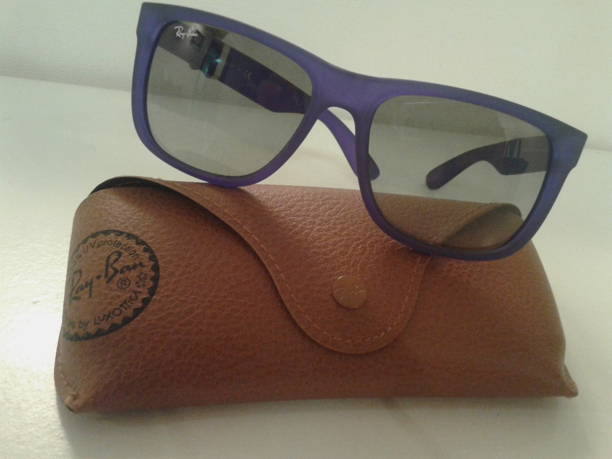 Óculos De Sol Ray Ban Rb4165 899 11 Justin 54x16 - Ref 130 - R  289 ... db138255d5