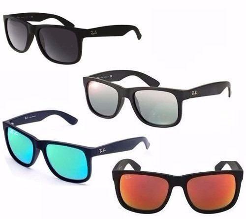 Óculos De Sol Ray-ban Rb4165 Justin Original Envio 24h - R  269,49 ... f5aafb293d