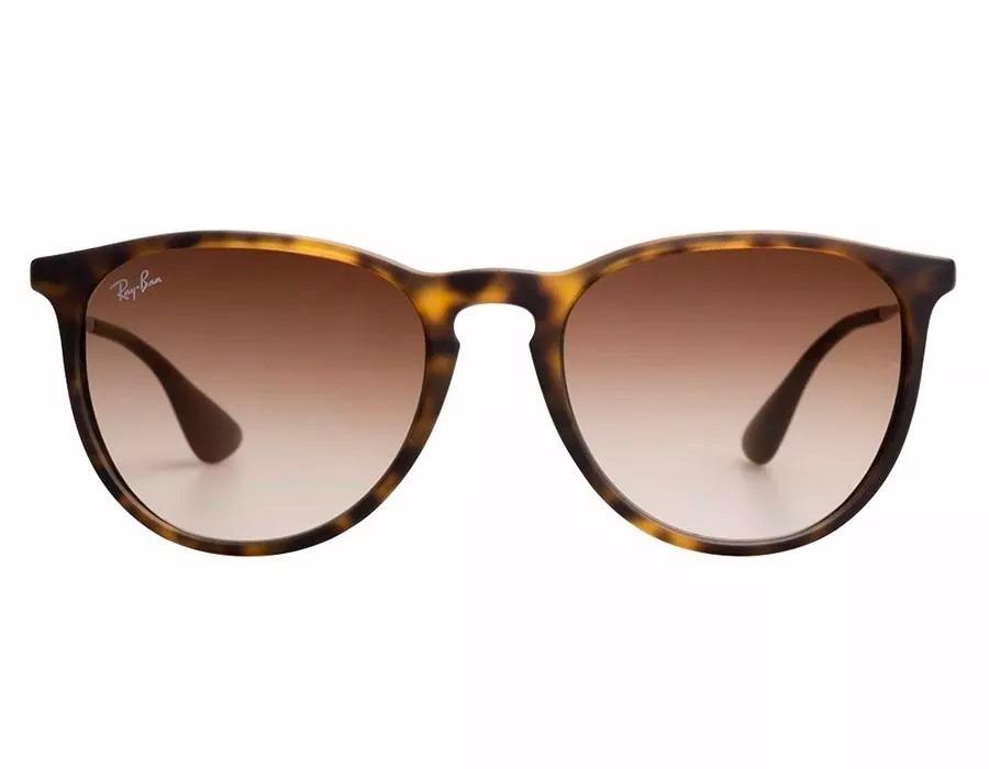 8c0ff0c6c óculos de sol ray-ban rb4171 erika original marrom tartaruga. Carregando  zoom.
