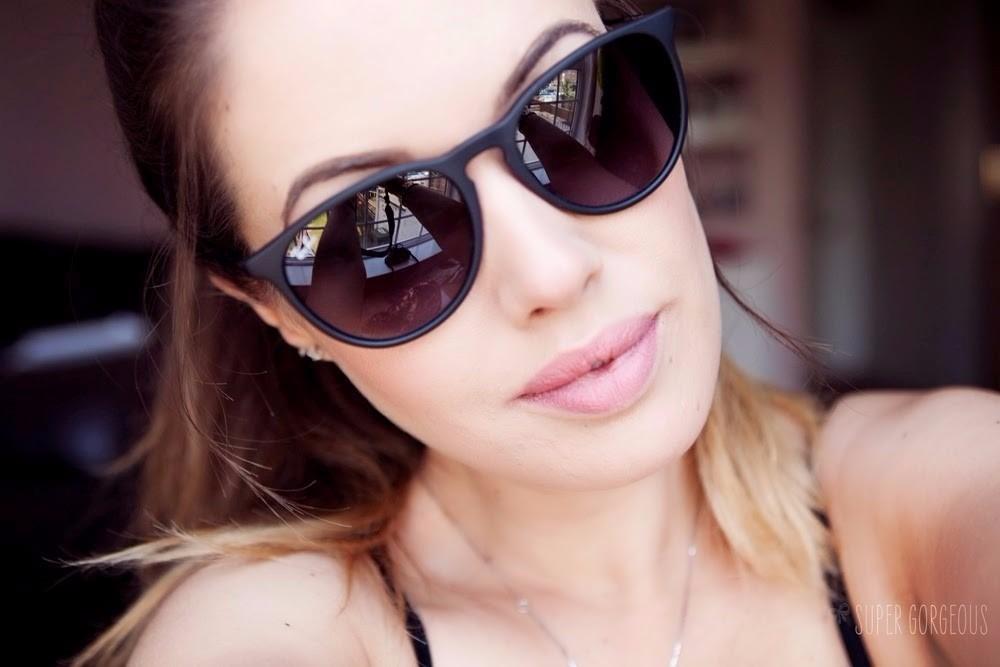 f668685ab óculos de sol ray-ban rb4171 erika velvet case e certificado. Carregando  zoom.