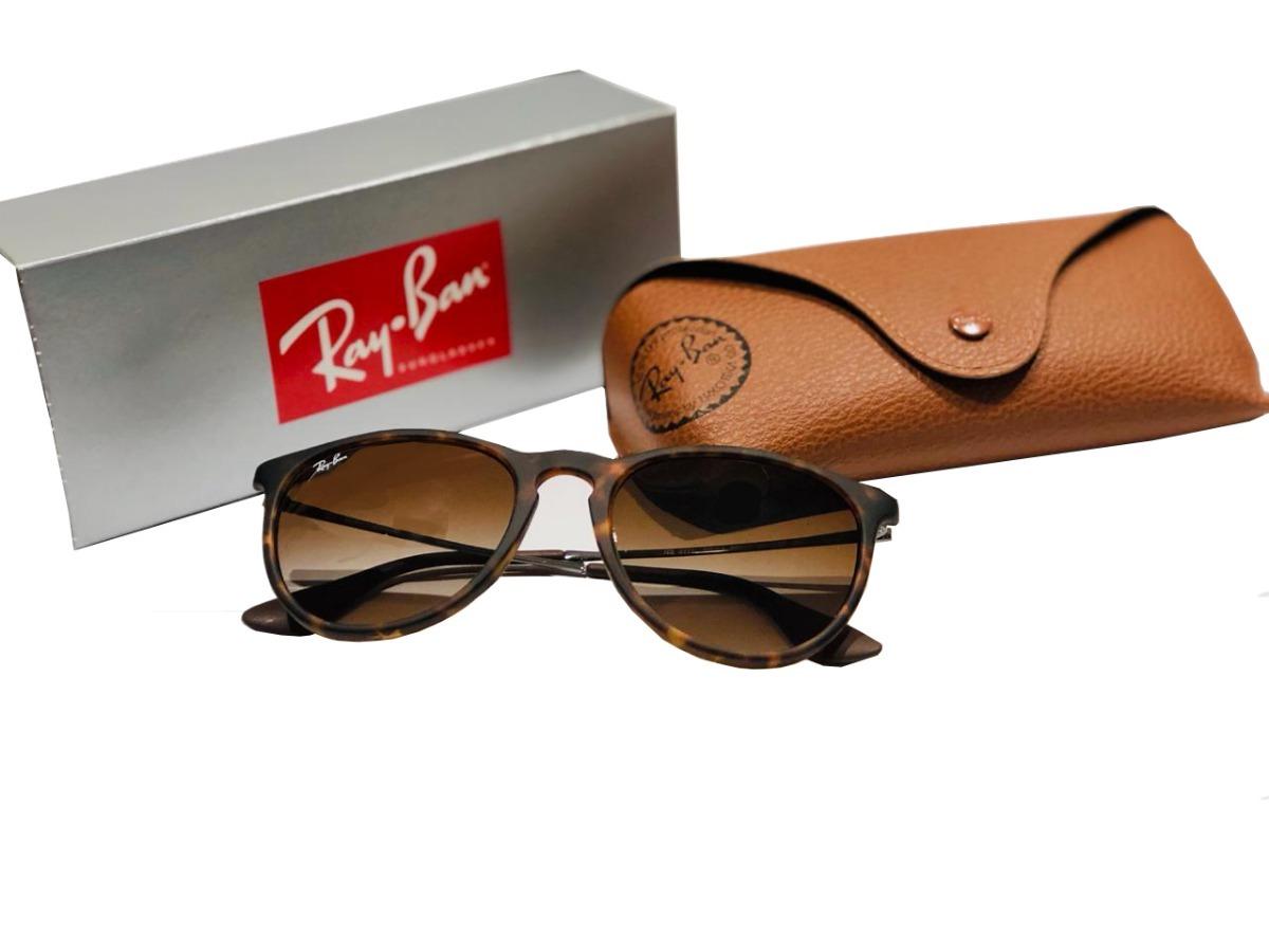 c23262b1db Óculos De Sol Ray-ban Rb4171l Erika 856/13 Marrom - R$ 520,00 em ...