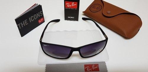 95ecb8aedf6bc Óculos De Sol Ray Ban Rb4179m Preto Com Lente Cinza Degradê. - R  290,00 em  Mercado Livre