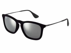 6d8f02d16d Óculos De Sol Ray Ban Rb4187 Chris 6075/6g 5418 Produto Novo