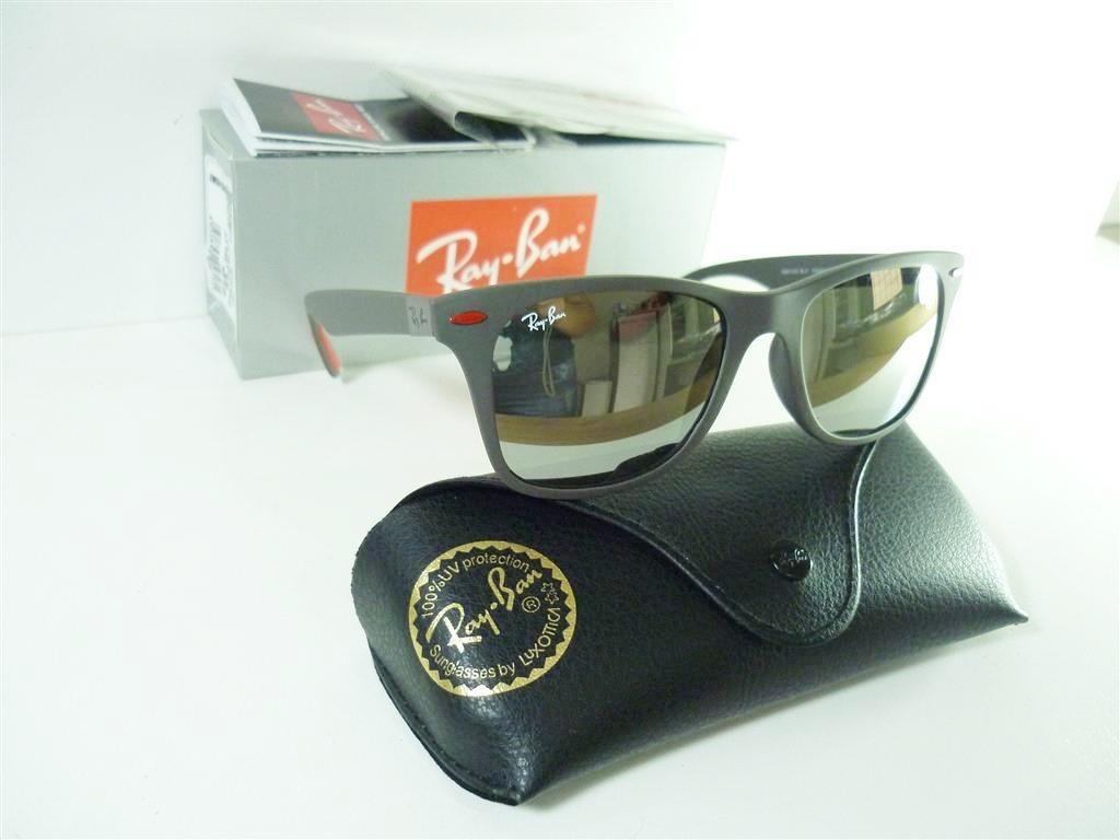 fb5880dd8 Óculos De Sol Ray Ban Rb4195 M Wayfarer Scuderia Ferrari - R$ 299,00 ...