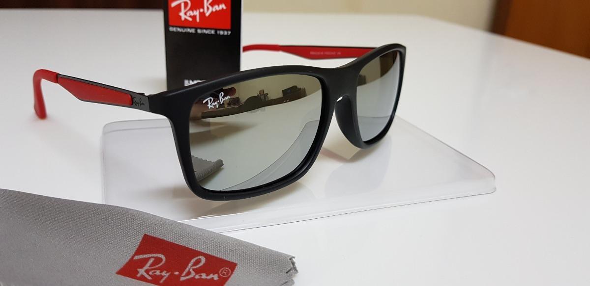 821f90a9571 Óculos De Sol Ray Ban Rb4228m Scuderia Ferrari- Wayfarer - R  310