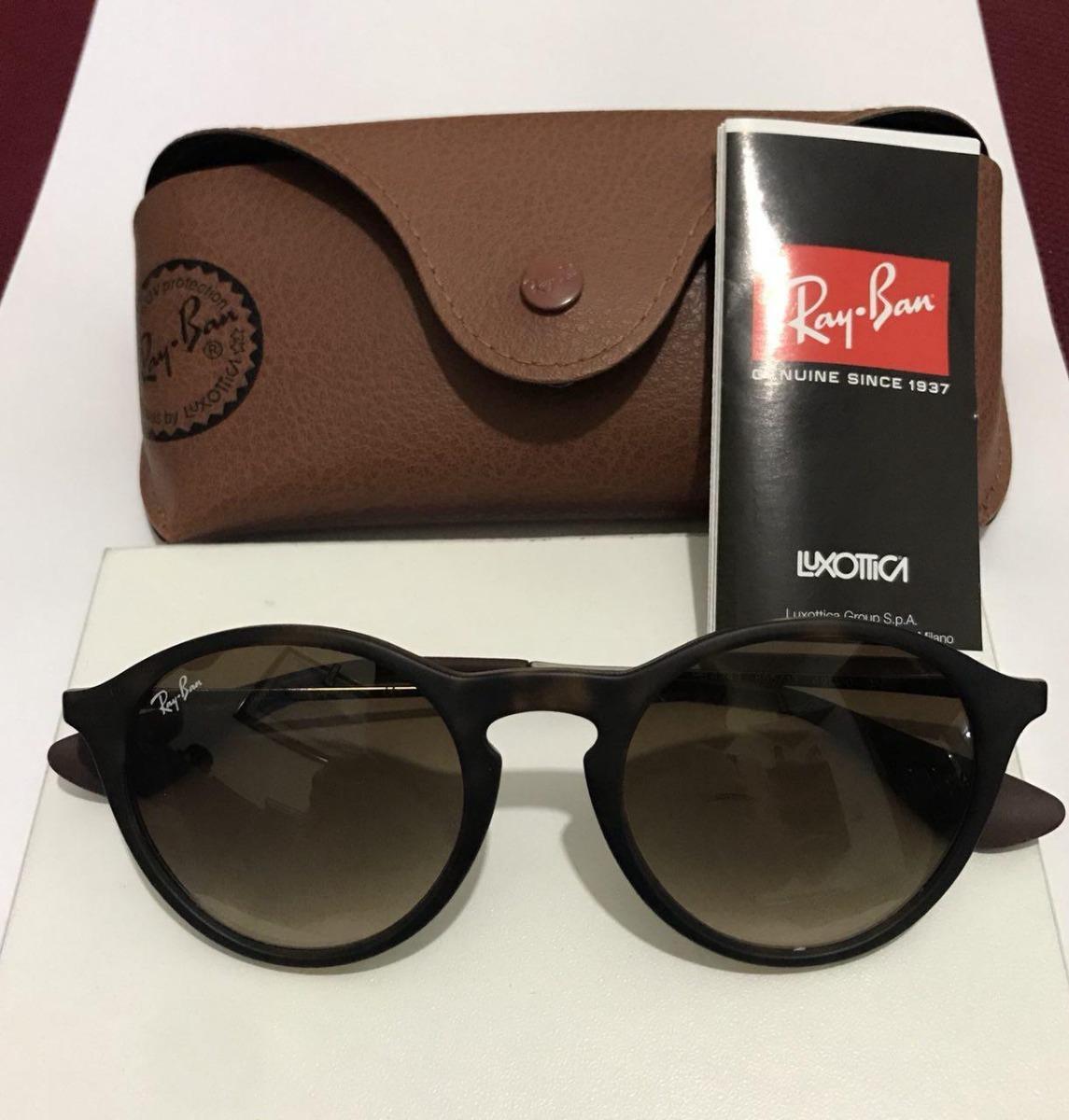 42d6eb591fc32 Óculos De Sol Ray Ban Rb4243 Novo E Original - R  300,00 em Mercado ...
