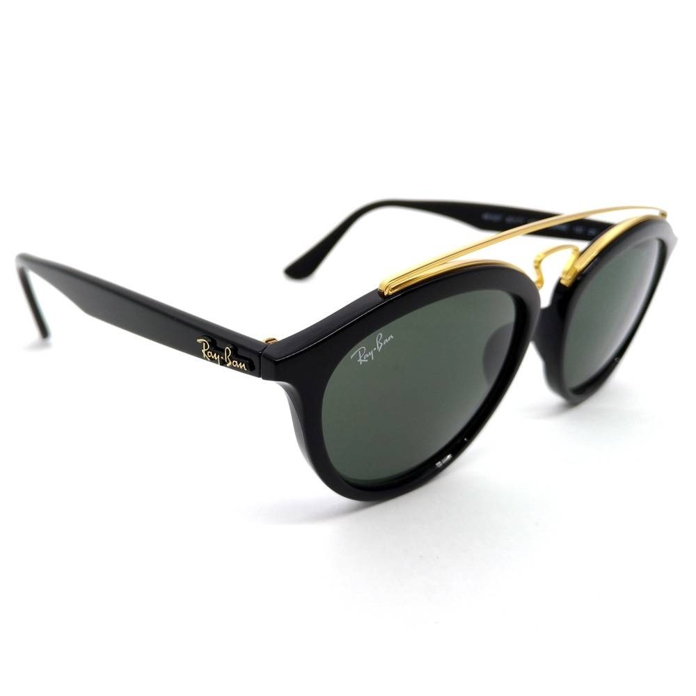 253569298 óculos de sol ray ban rb4257 601/71 53 new gatsby oval preto. Carregando  zoom.