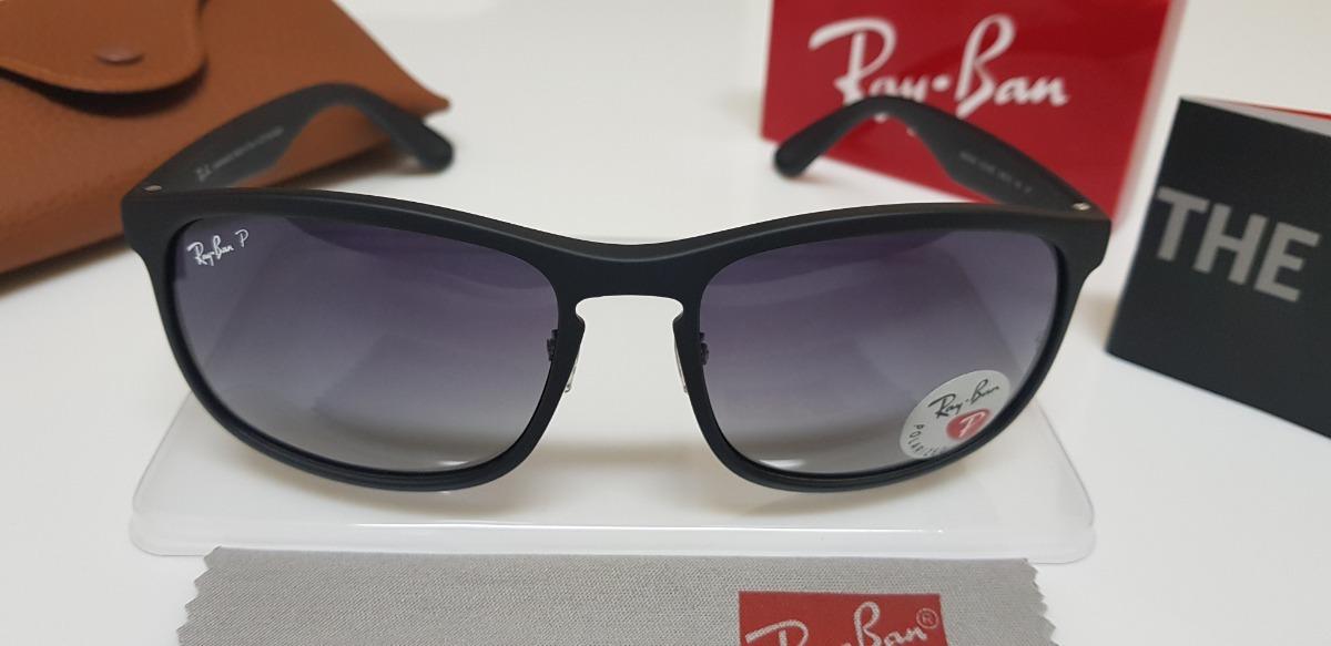 Óculos De Sol Ray-ban Rb4264 Preto Degradê 58 Médio - R  270,00 em ... 288ea6eda0