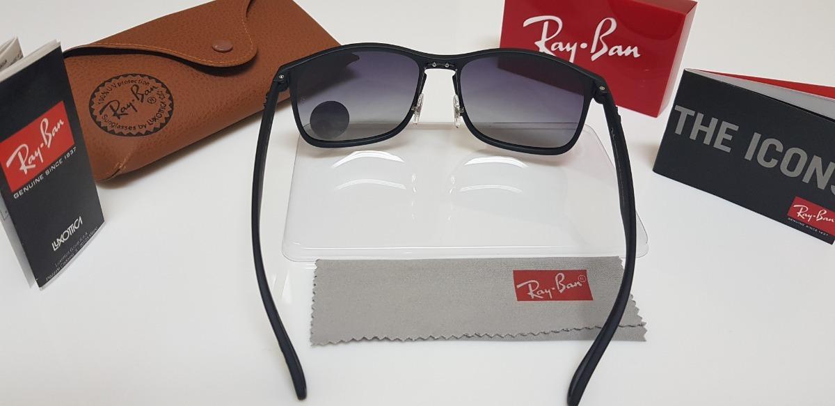 Óculos De Sol Ray-ban Rb4264 Preto Degradê 58 Médio - R  220,00 em Mercado  Livre 6ea8c35b5d