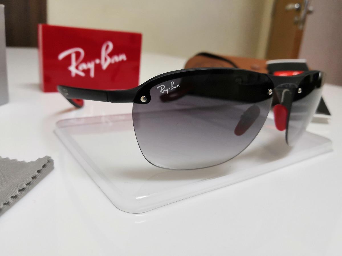 36bcd3e94b264 óculos de sol ray ban rb4302m- scuderia ferrari f602 9a. Carregando zoom.