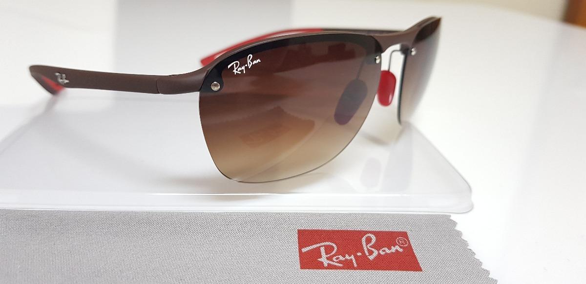 e1a8e8aa56e73 óculos de sol ray ban rb4302m scuderia ferrari f607 fg 2018. Carregando  zoom.