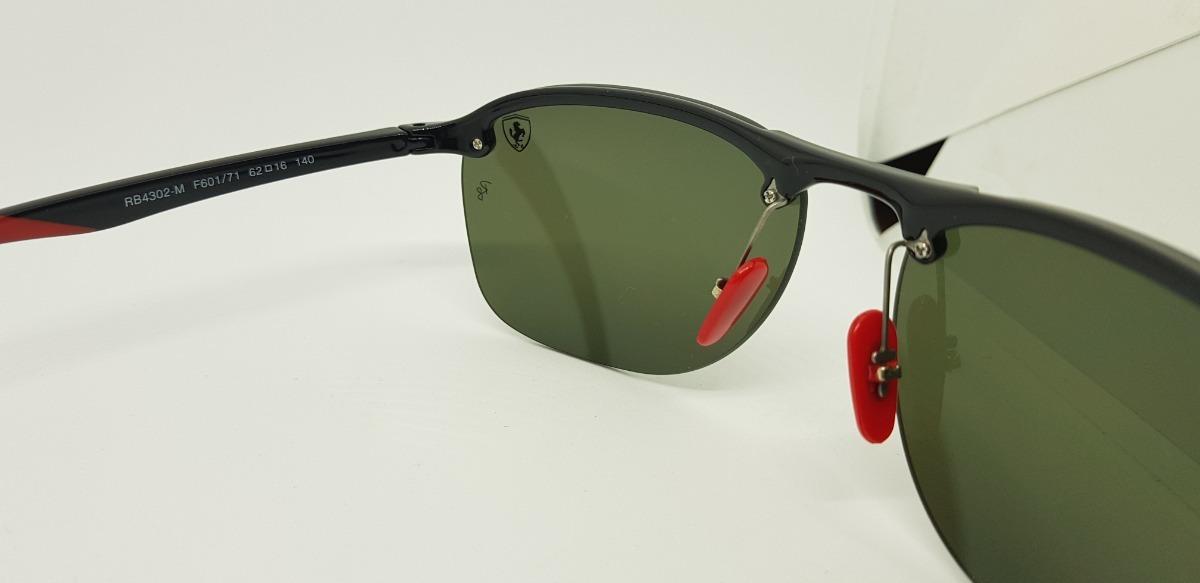 Óculos De Sol Ray Ban Rb4302m- Scuderia Ferrari- Verde G15. - R  290,00 em  Mercado Livre 0697591ddc