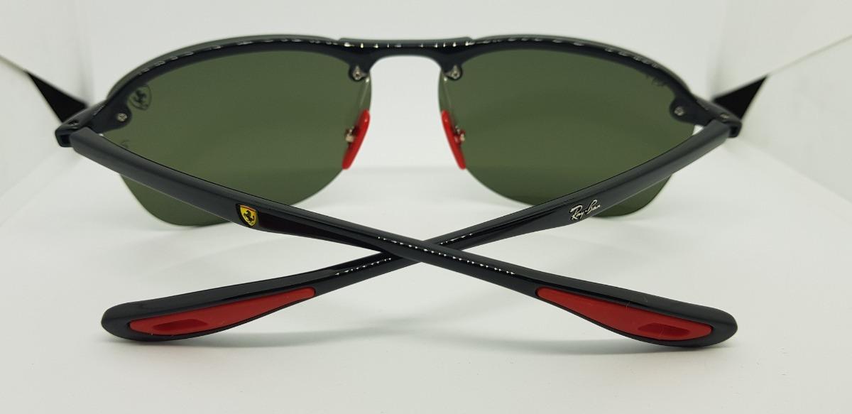 ededfa6f0ac Óculos De Sol Ray Ban Rb4302m- Scuderia Ferrari- Verde G15. - R  290 ...