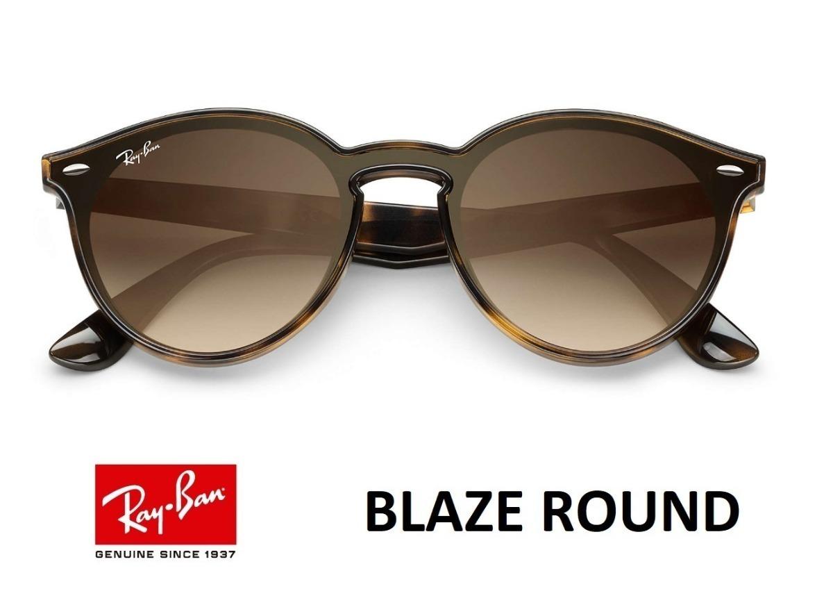 1d8a1149ef Oculos De Sol Ray Ban Round Blaze 4380 - R  250