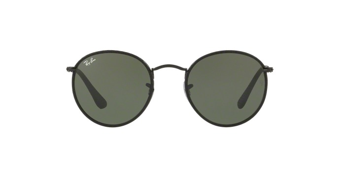 530f460513 ... brown gold sun 68b00 316b6  coupon for óculos de sol ray ban round craft  rb3475q 9040 preto couro a8d43 37392