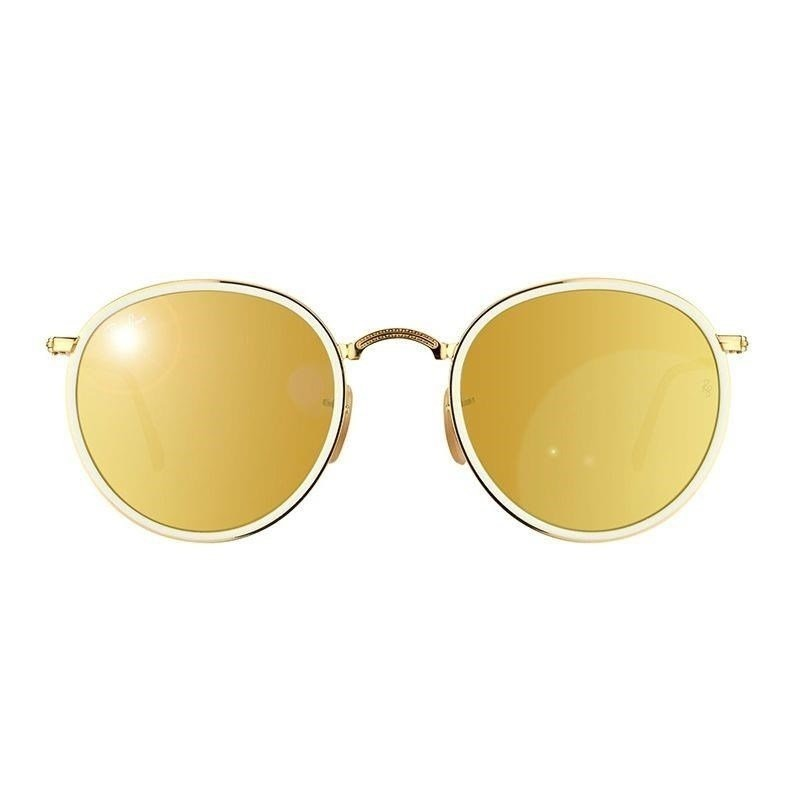 óculos de sol ray ban round dobrável rb3517 001 93 51 3n. Carregando zoom. eb591051e3