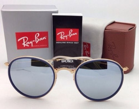 237c09fba Oculos Rayban Espelhado Rosa Dobravel - Óculos no Mercado Livre Brasil