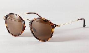 eee56fecda Oculos Rayban Round Fleck Flash - Óculos no Mercado Livre Brasil