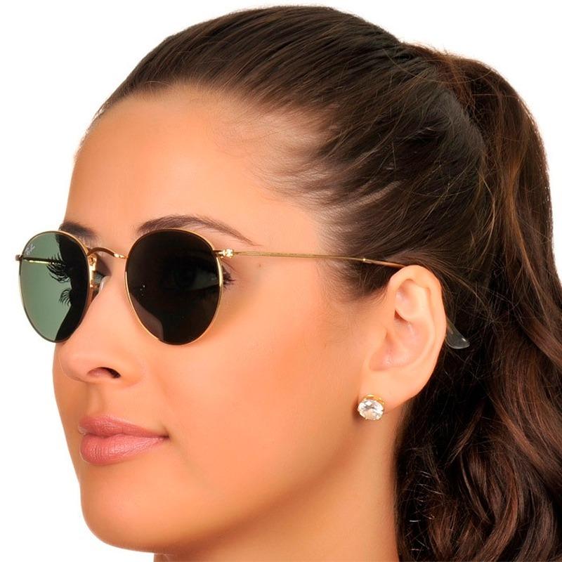 ... uk óculos de sol ray ban round metal rb3447 original envio 24h 11a26  4c09b 02aa155122
