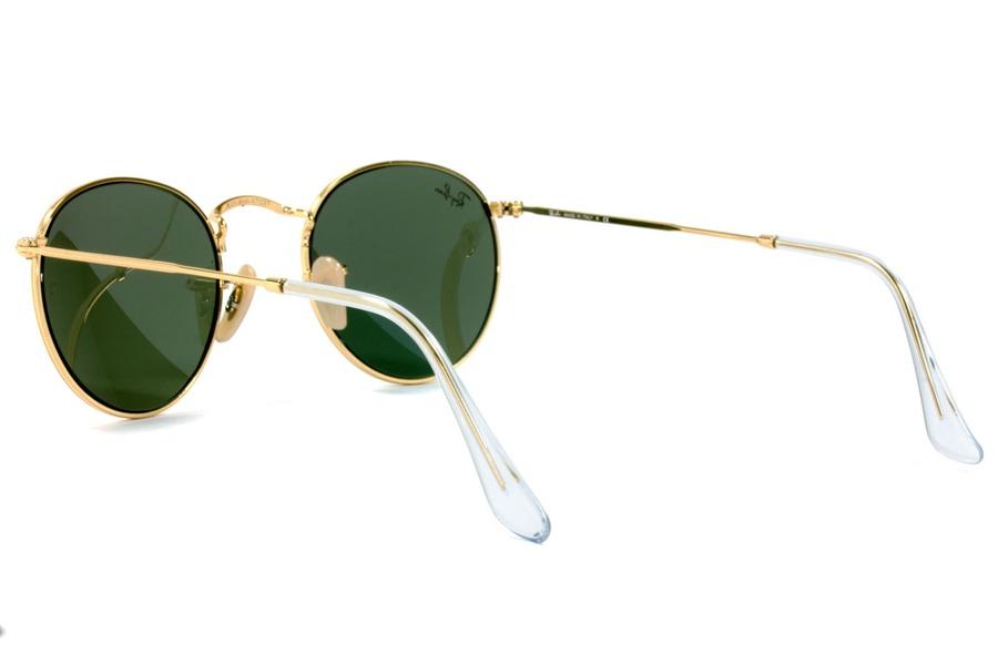 Óculos De Sol Ray Ban Round Metal Rb3447l 001 50 Dourado Pol - R  499,99 em  Mercado Livre 8b89327c47