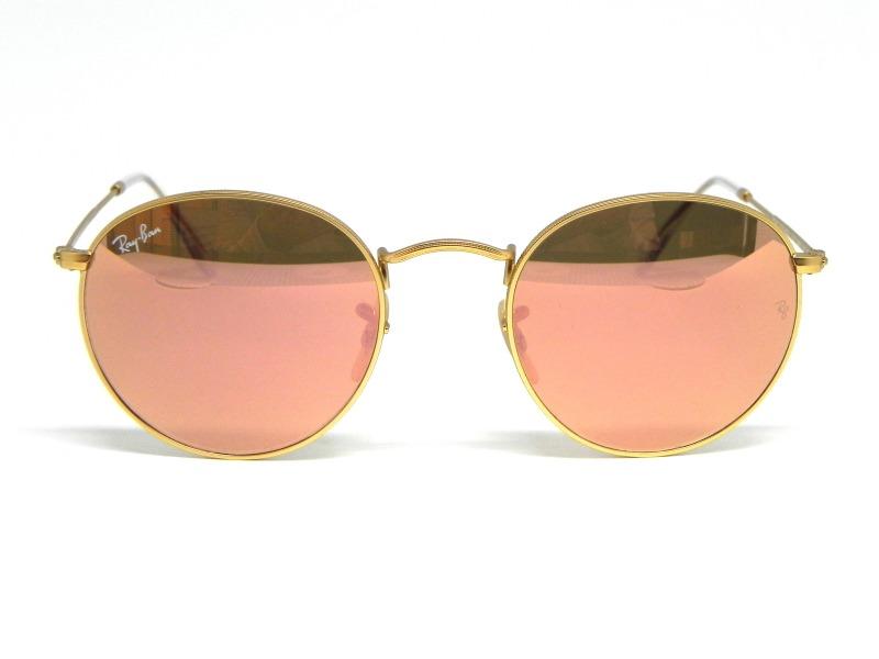 95a08f401 Oculos De Sol Ray Ban Round Rb 3447 112/z2 50 - R$ 460,00 em Mercado ...