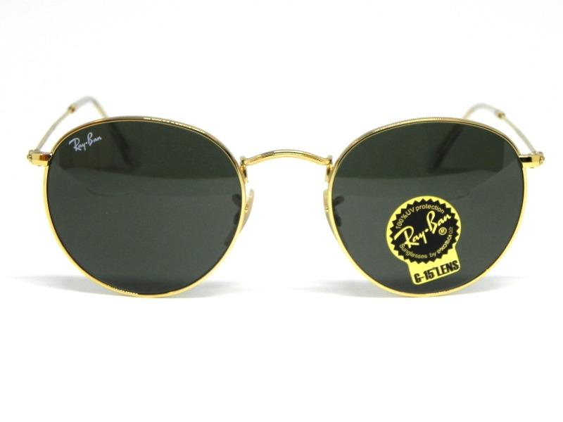 55f88485b3c1f oculos de sol ray ban round rb 3447l 001 50. Carregando zoom.