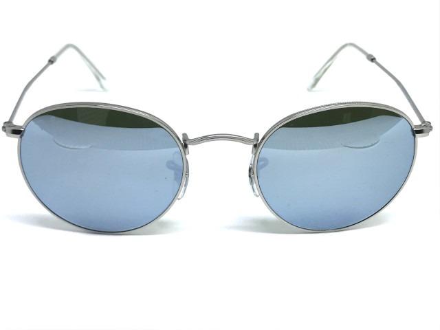 e6d09cbd9 Oculos De Sol Ray Ban Round Rb 3447l 019/30 50 - R$ 420,00 em ...