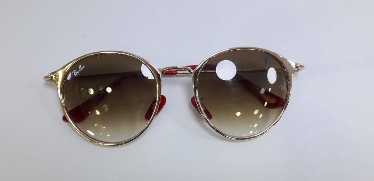 9f5178a1c6 Oculos De Sol Ray Ban Scuderia Ferrari Colection Lancamento - R  301 ...