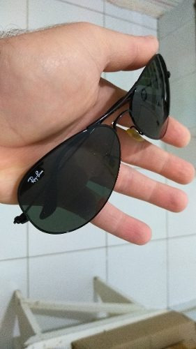 Óculos De Sol Ray Ban Top Aviador G15 Rb 3026  original  - R  219,99 ... b0f8b54365