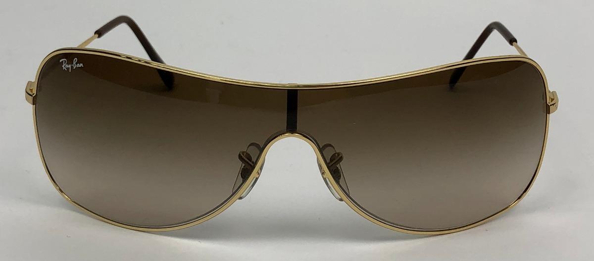óculos de sol ray ban usado uma vez lente marrom original. Carregando zoom. bc80b41bfc