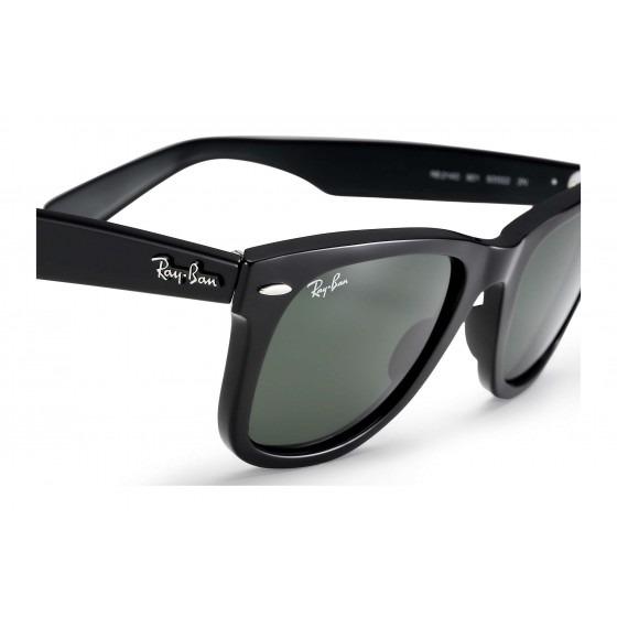 fa9d9309860 Óculos De Sol Ray-ban Wayfarer Classic Rb2140 901 - Refinado - R ...