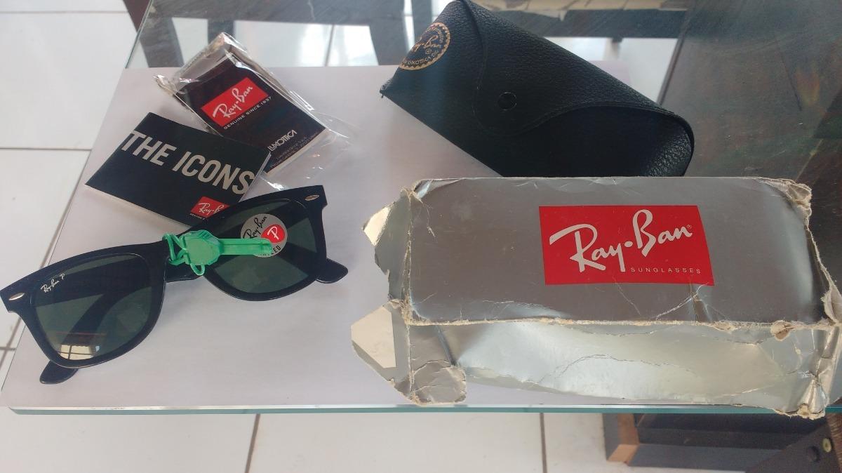 Óculos De Sol Ray-ban Wayfarer Clássico - R  400,00 em Mercado Livre 78fb511a54
