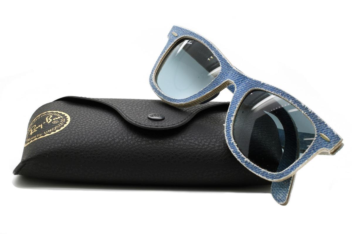 b5b4a875a Óculos De Sol Ray-ban Wayfarer Denim - Original - R$ 309,00 em ...