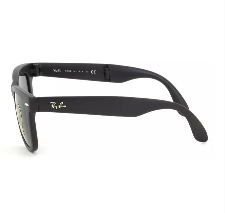 a91272933 Oculos De Sol Ray Ban Wayfarer Dobravel Folding Rb4105 54mm - R$ 189 ...