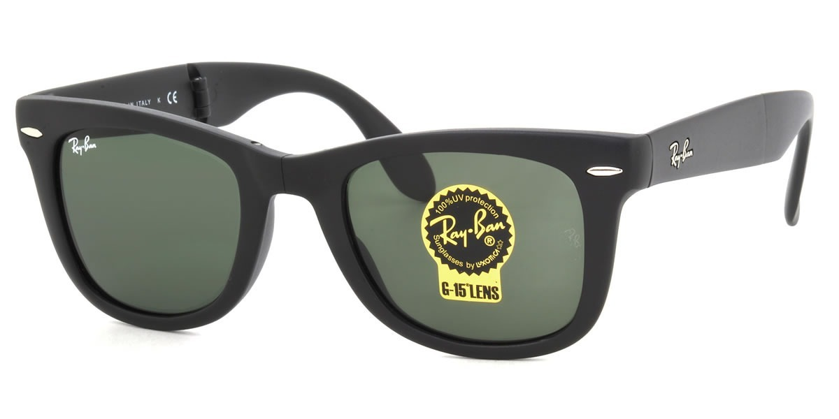 0587c9ae81895 oculos de sol ray ban wayfarer dobravel folding rb4105 54mm. Carregando  zoom.