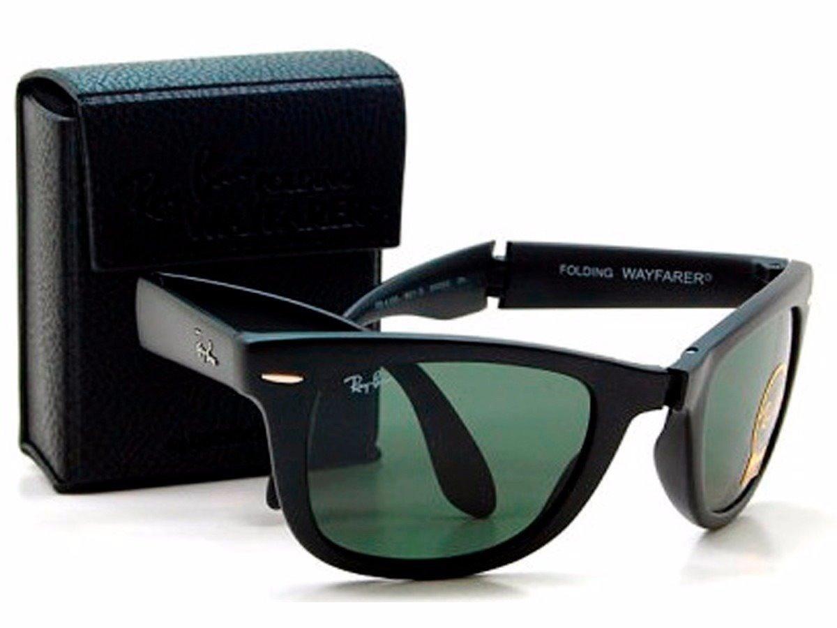 oculos de sol ray ban wayfarer dobrável rayban frete grátis. Carregando  zoom. 1f265d9ea72b7