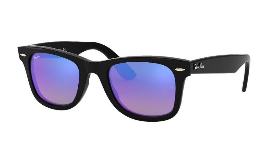 a693374852d95 óculos de sol ray-ban wayfarer masculino rb 4340 601 40 50. Carregando zoom.