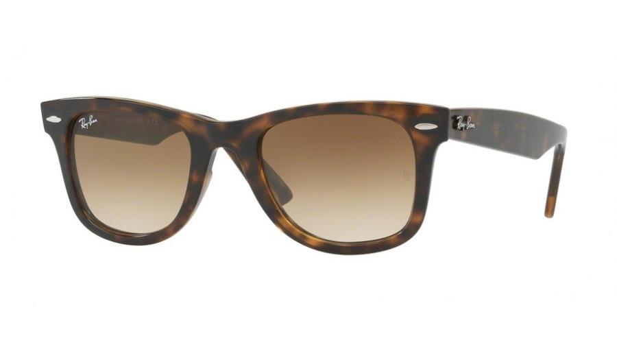 Óculos De Sol Ray-ban Wayfarer Masculino Rb 4340 710 51 50 - R  475 ... df8375d019