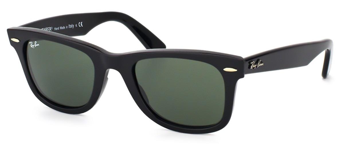 9454e44ec Óculos De Sol Ray Ban Wayfarer Rb2140 901 - R$ 538,00 em Mercado Livre