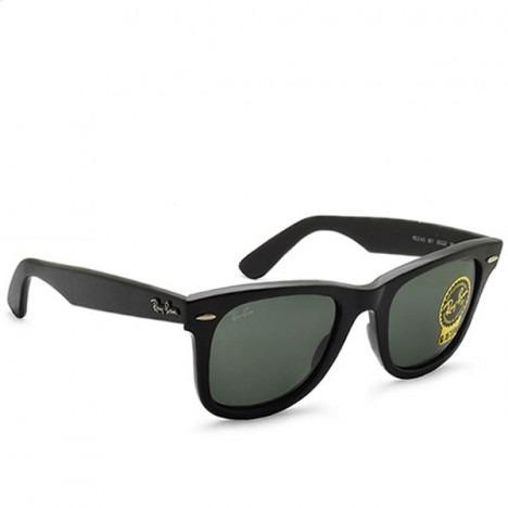 51b10dd4c Oculos De Sol Ray Ban Wayfarer Rb2140 Black Piano Fosco Unis - R ...