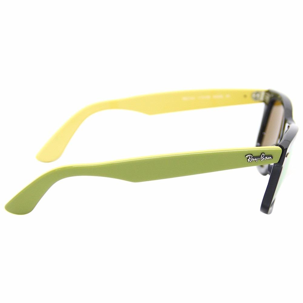 2f8cbd7b3 óculos de sol ray ban wayfarer rb2140 tamanho 50 (menor). Carregando zoom.