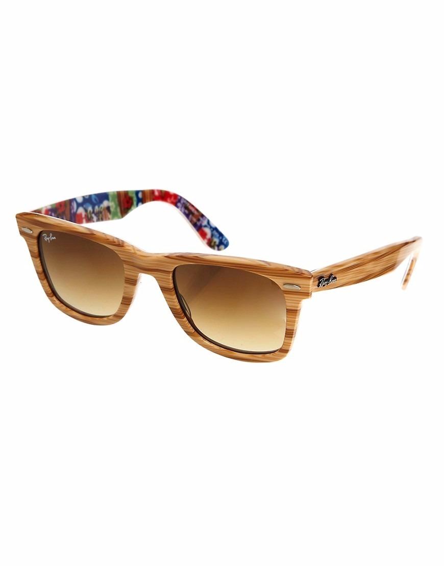 óculos de sol ray ban wayfarer special series 2140 1138 85. Carregando zoom. c5af6892be