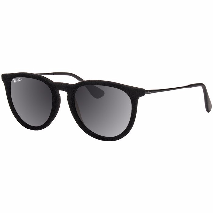 7c41943ce Óculos De Sol Ray- Rb 4171 Érika Velvet Veludo Preto Rayban - R$ 79 ...