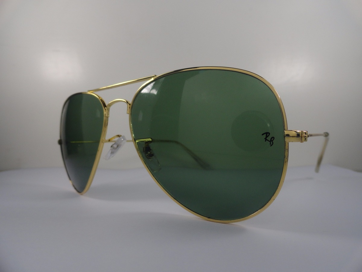 Ray Ban 3025 Dourado Com Lente Verde G15 « Heritage Malta 53356dc4f4