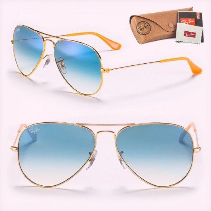 Oculos De Sol Rayban Aviador Com Brinde - R  249,99 em Mercado Livre 804ee303dc