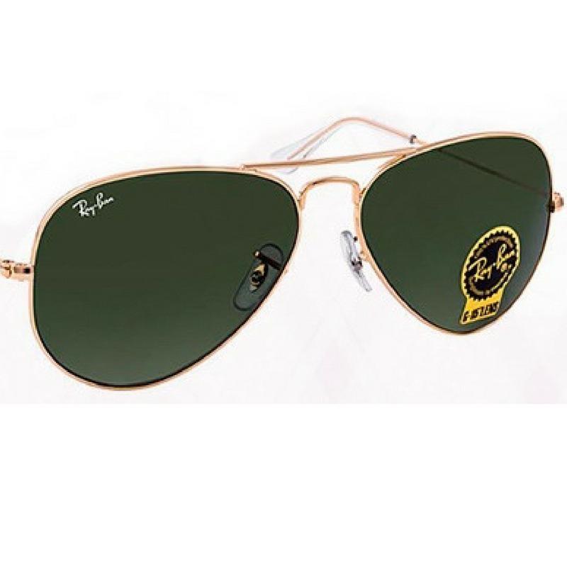 931f3bd6e21f4 oculos de sol rayban aviador masculino femin estilo + brind. Carregando  zoom.